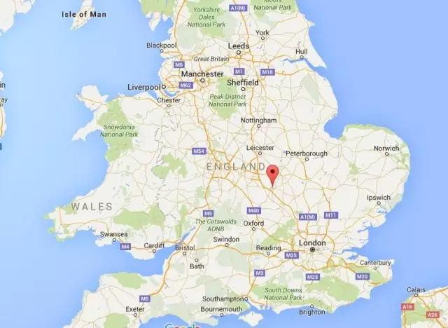 北安普顿真的是大不列颠的中心!